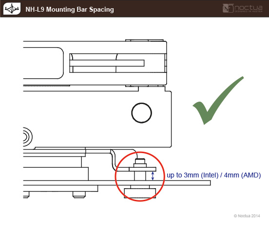 nh-l9 mounting bar spacing